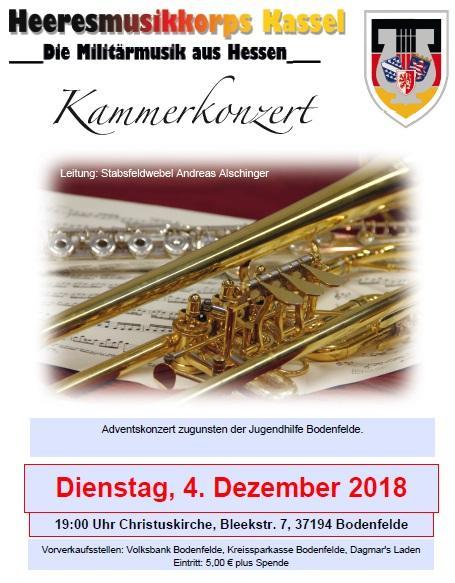 Kammerkonzert Kirche Bodenfelde