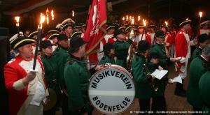 Der Musikverein beim Schüttenhoff