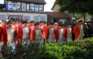 Junge Garde am Schüttenplatz